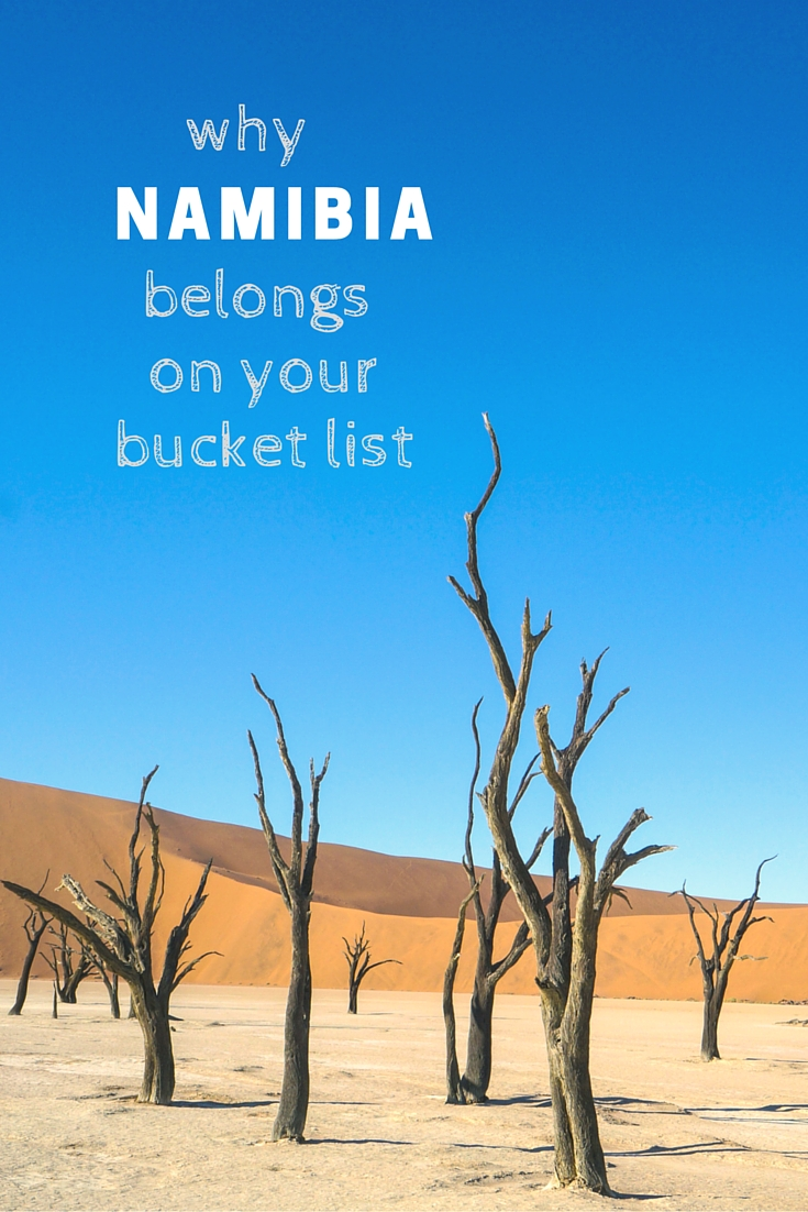 namibia bucket list