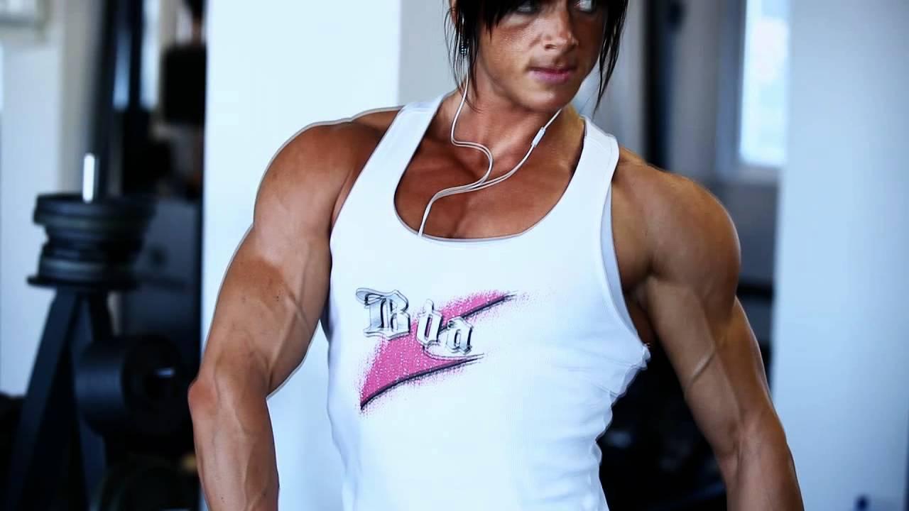 Katka Kyptova Sexy Trailer - Video - Girls With Muscle