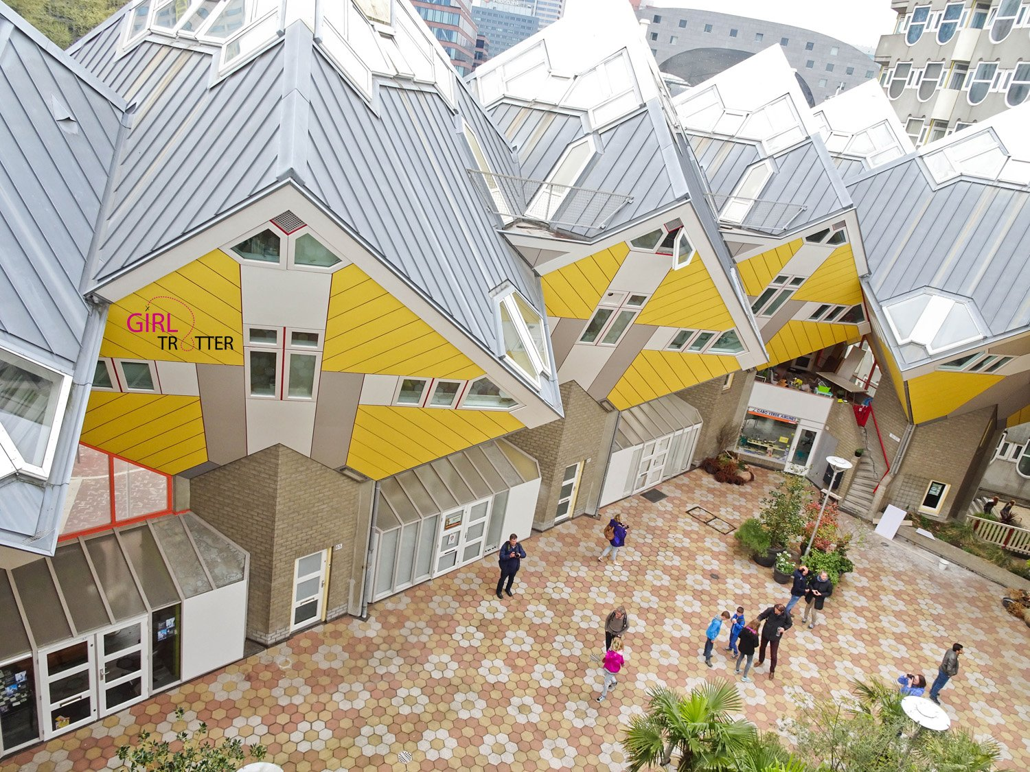 Roadtrip aux pays-bas hollande - Rotterdam cube houses