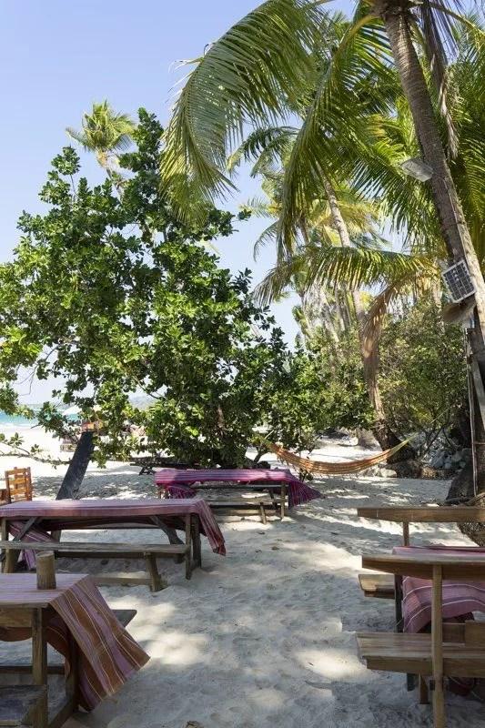 Lili's bar au Laguna Lodge Hotel de Ngapali - Myanmar Birmanie