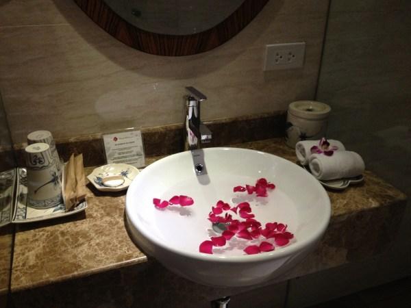 Bathroom at Hanoi Elite
