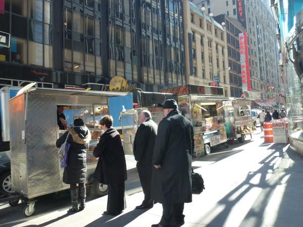 Food carts in NYC