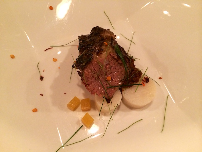 Slow cooked short beef rib at Wild Rocket