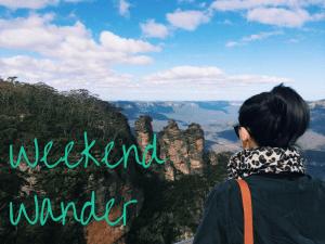 weekend wander