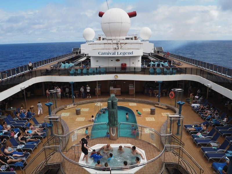 Diary Of A Typical Day Cruising With Carnival Legend