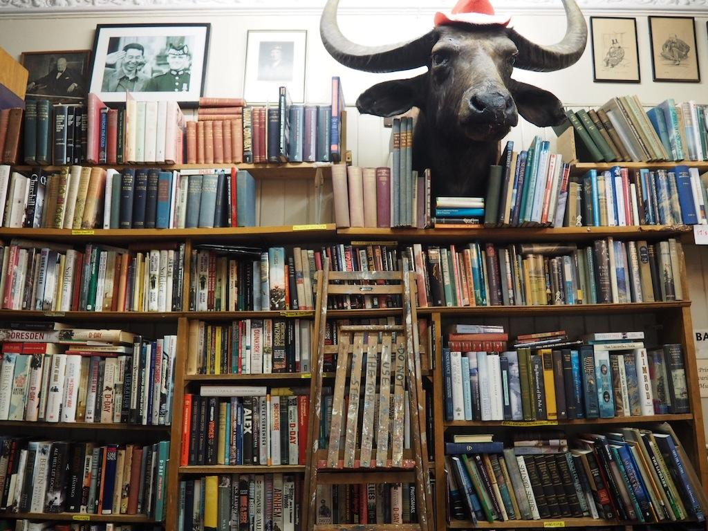 The mascot of Edinburgh Books