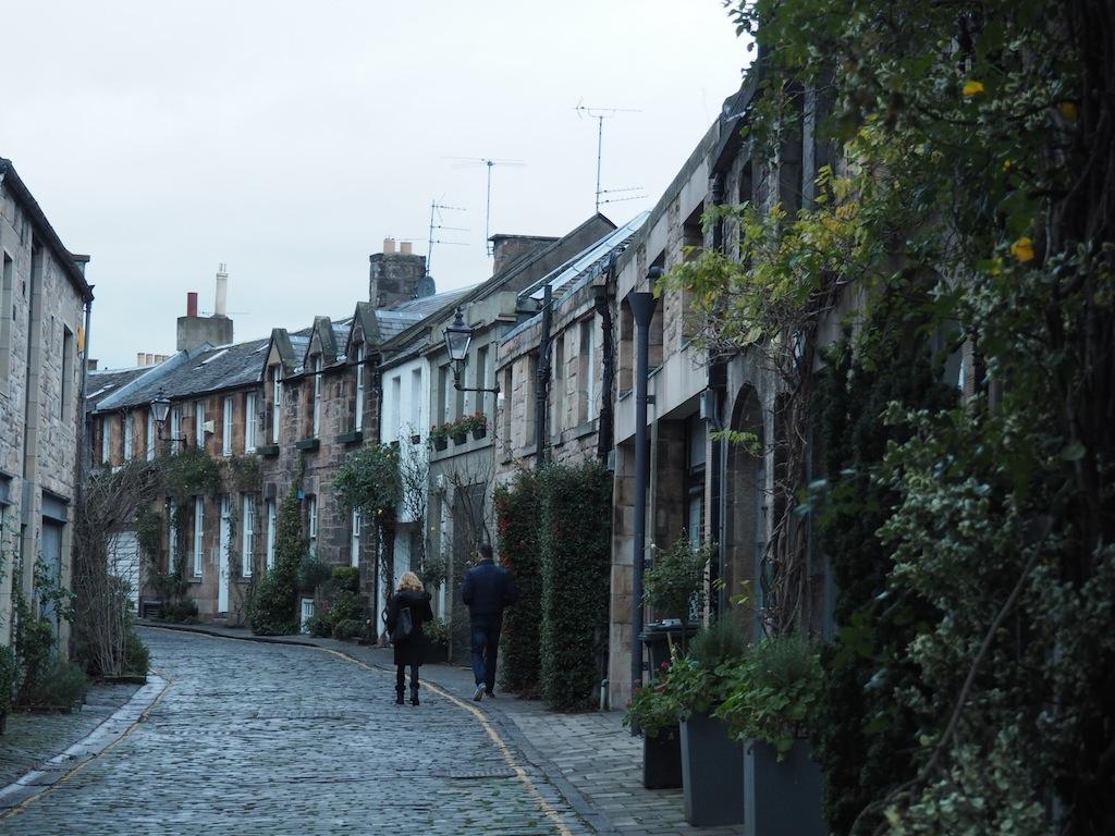 Cute streets of Stockbridge