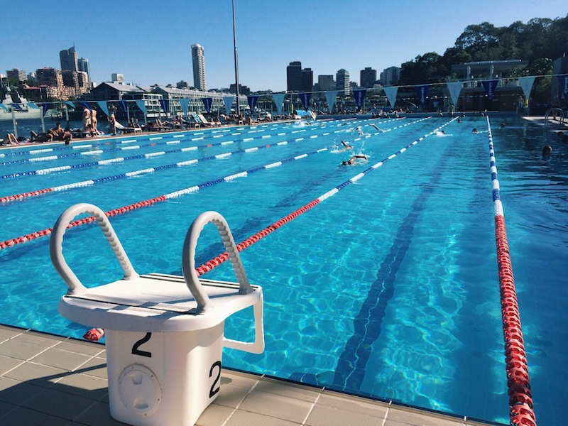 You can walk to the ABC Pool from Potts Point