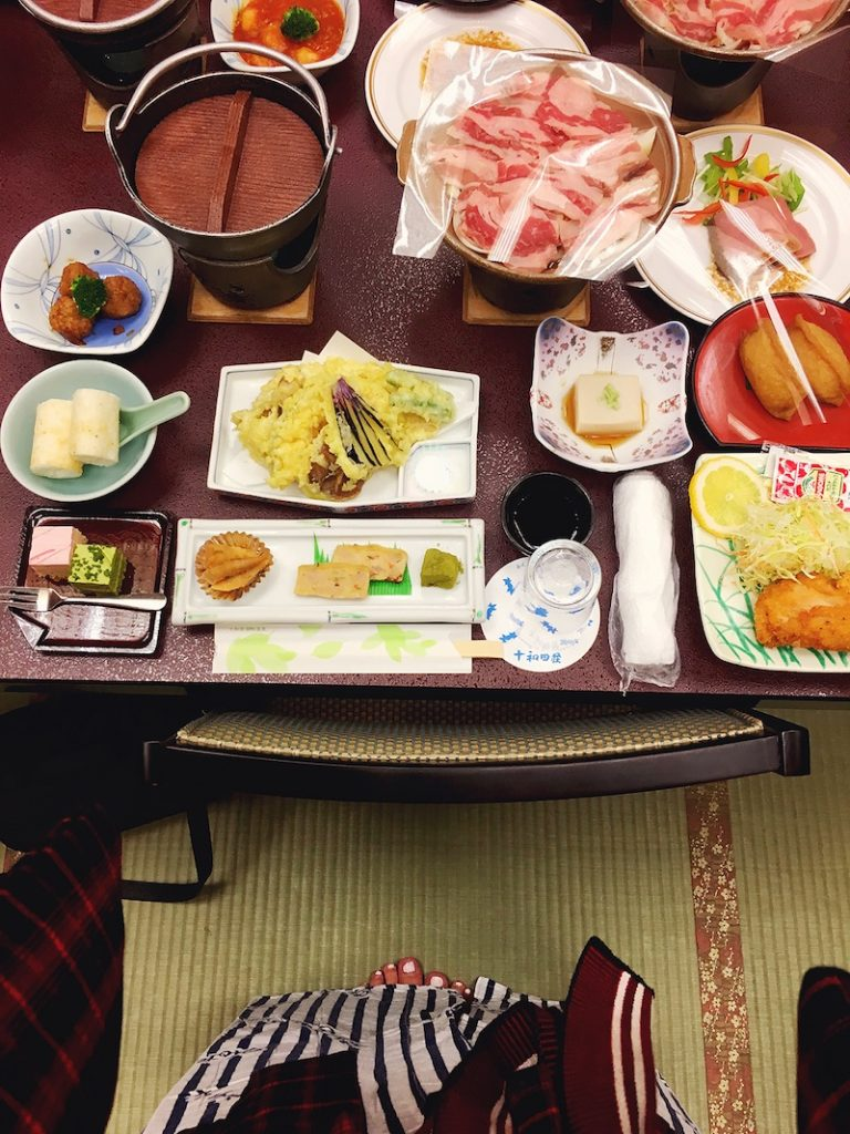 Japanese food in Tohoku