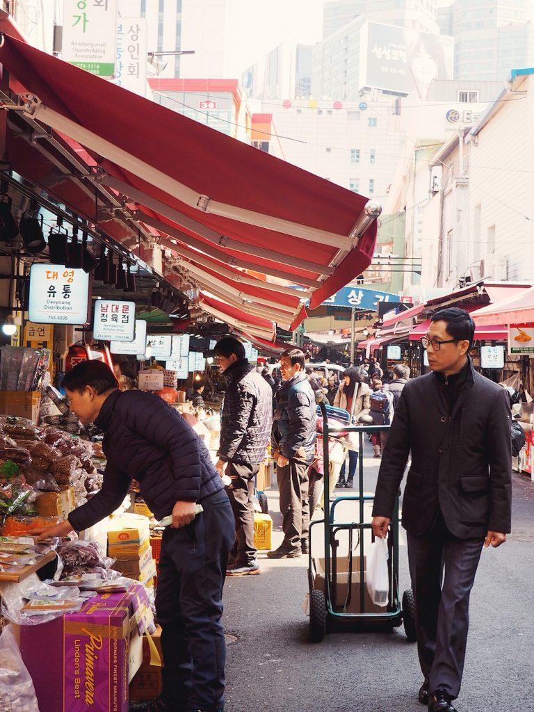 Namdaemun, South Korea's largest market