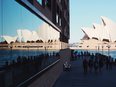 Opera House reflections at Park Hyatt Sydney