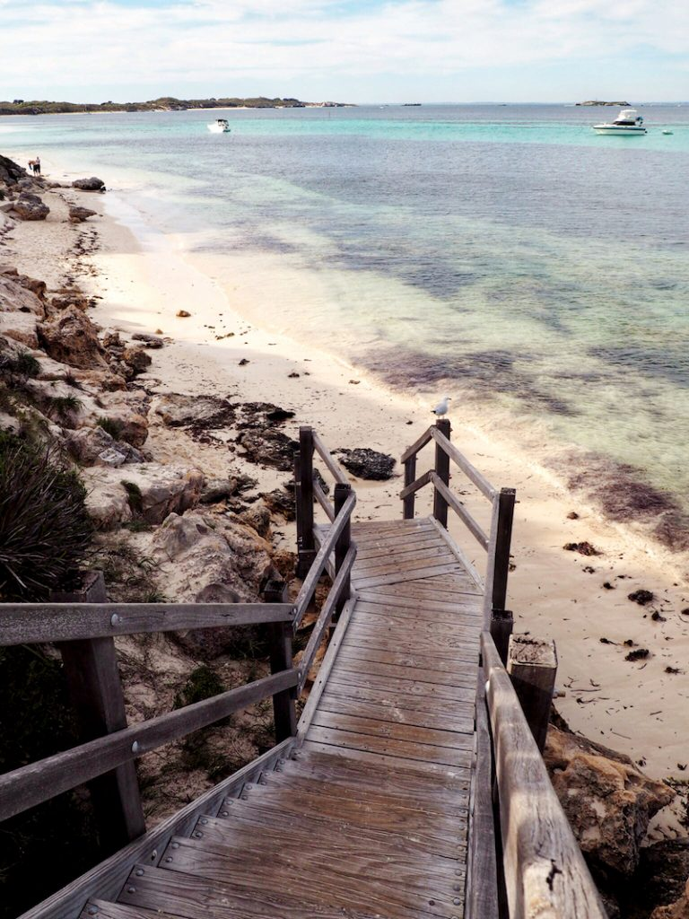 Gorgeous bays at beaches at every turn on Rottnest Island