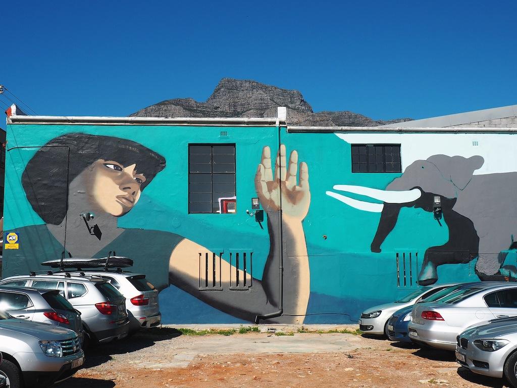 Street art walking tour Woodstock Cape Town