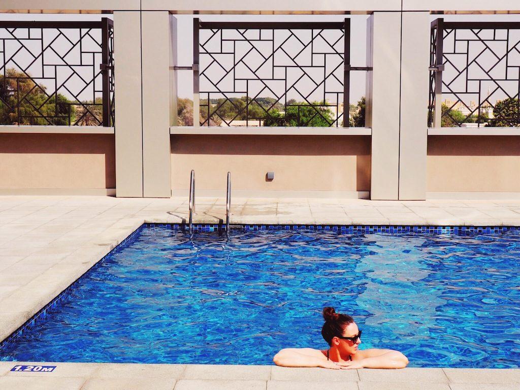 Pool at Rove Downtown Dubai