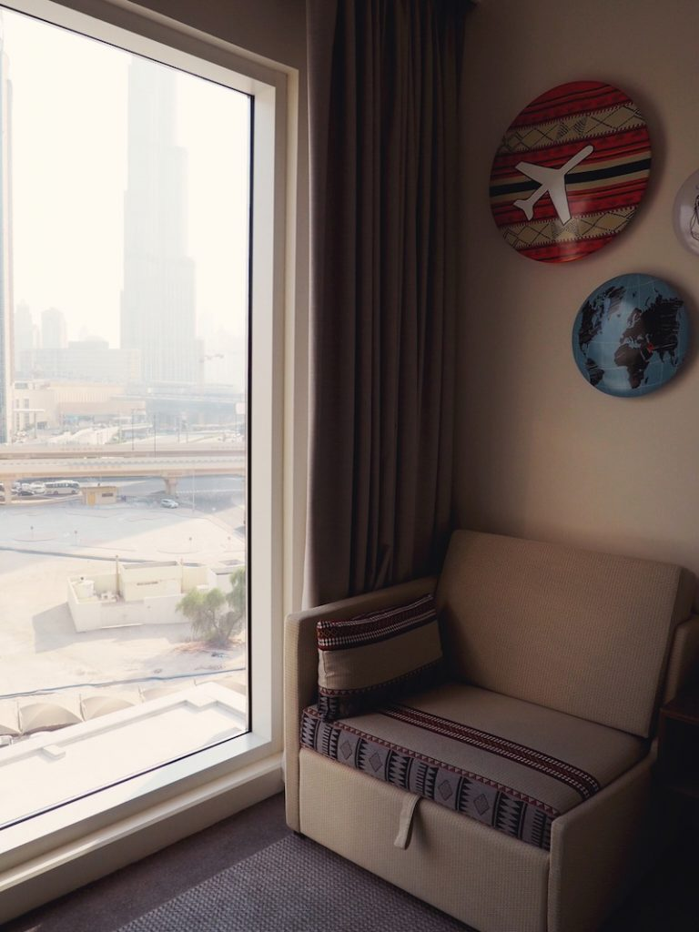 And there's views of the Burj Khalifa too!