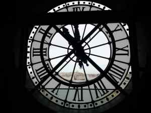 This clock is one of my favorite parts of the Musee d'Orsay.