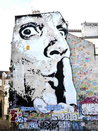 Paris is home to some of my favorite street art in the world.