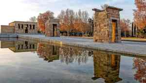 The eternal beauty of Templo de Debod in Madrid.