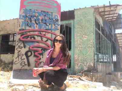 Middle east solo female travel to Palestine's West Bank.