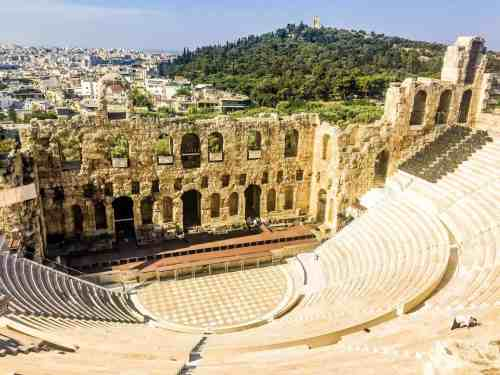 The Odeion of Herodes Atticus is not to be missed during any visit to the Acropolis.