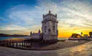 There are so many amazing things to see in Lisbon, like the Belem Tower.