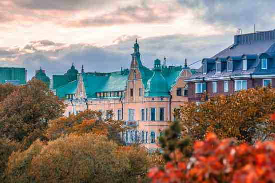 The romantic charm and beauty of Helsinki, Finland.