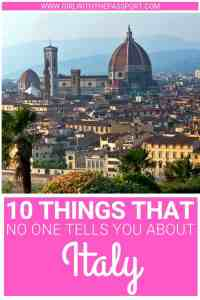 Planning your trip to Italy? Then check out these secret Italy travel hacks that will help you avoid common mistakes and travel smarter. This way, you'll see all the best attractions in Italy. #italy #traveltips #europe #wanderlust #budgetfriendly