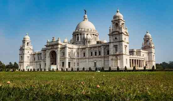 The beautiful Victoria Memorial in Kolkata, India.