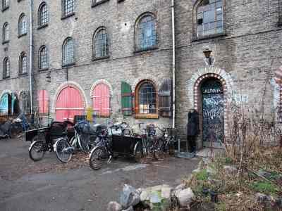 Christiana is an autonomous sector of Copenhagen that has beautiful street art and an eclectic style that everyone should experience.