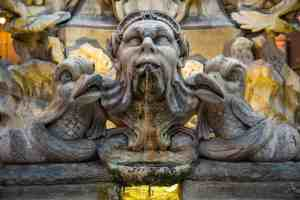 Public water fountains in Rome put all other water fountains to shame.