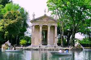 Definitely take some time to stop and explore some of the beautiful parks in Rome.