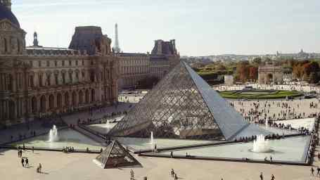 The Louvre is one of my favorite museums in the entire world.