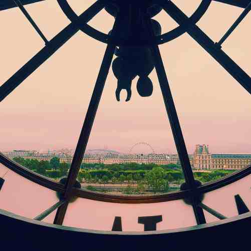 So many amazing places in Paris, like the Musee d'Orsay, and so little time.