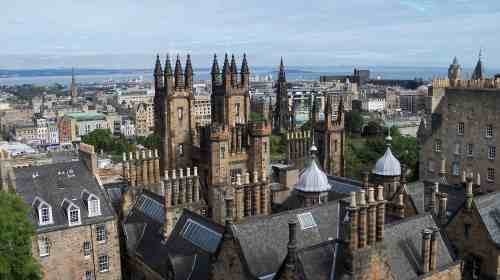 The beautiful Edinburgh landscape never ceases to amaze me.