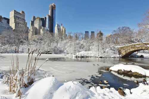 Winter really is a magical time to visit New York City.