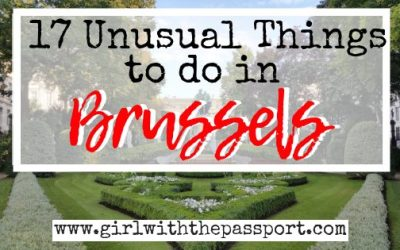 17 Weird and Unusual Things to do In Brussels