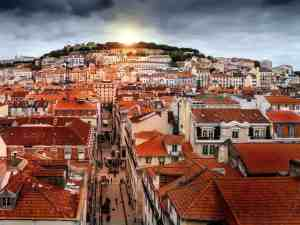 The majestic beauty of Lisbon, Portugal.