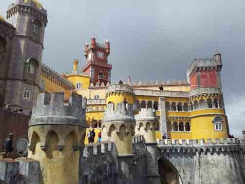 The one of a kind, Palácio Nacional da Pena in Sintra.
