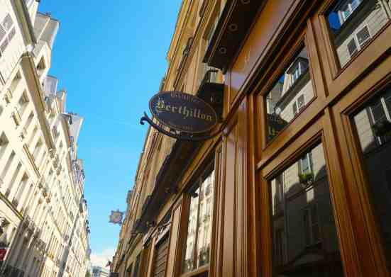 The ice cream at Berthillon Glacier is some of the best ice cream in all of Paris