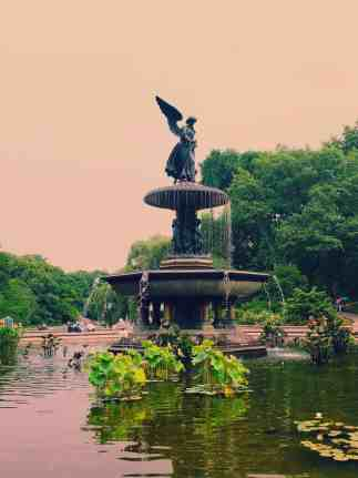 Beautiful Bethesda Fountain is one of my favorite photo spots in New York City.