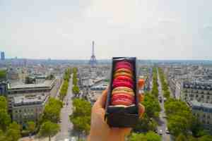 I can never say no to a macaron from Laduree.