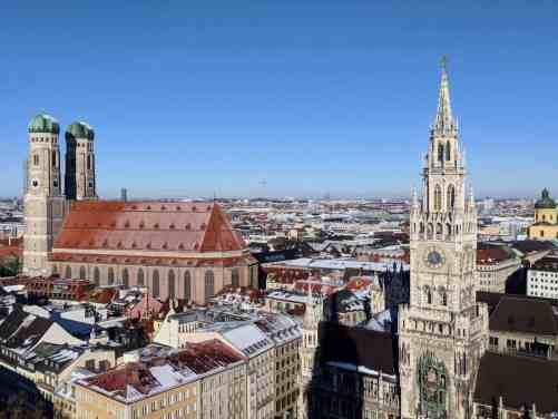 Munich, Germany is an amazing place to see, especially during the winter.
