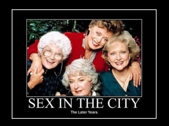 The original Sex and the City ladies.