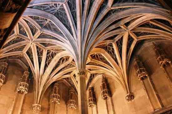 Some of the amazing Medieval architecture you'll see at the Cluny Museum.