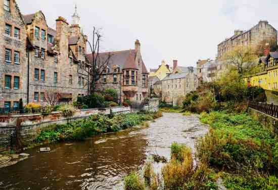 I never get tired of admiring the insane beauty of Dean Village.