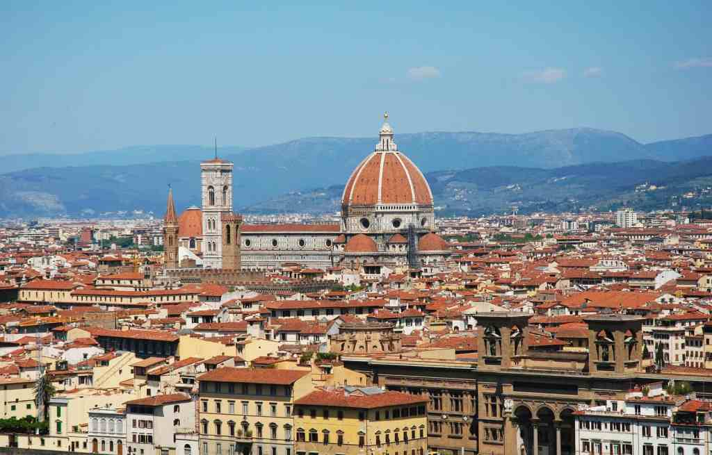 During your 2 days in Florence, make sure to enjoy the magical skyline.