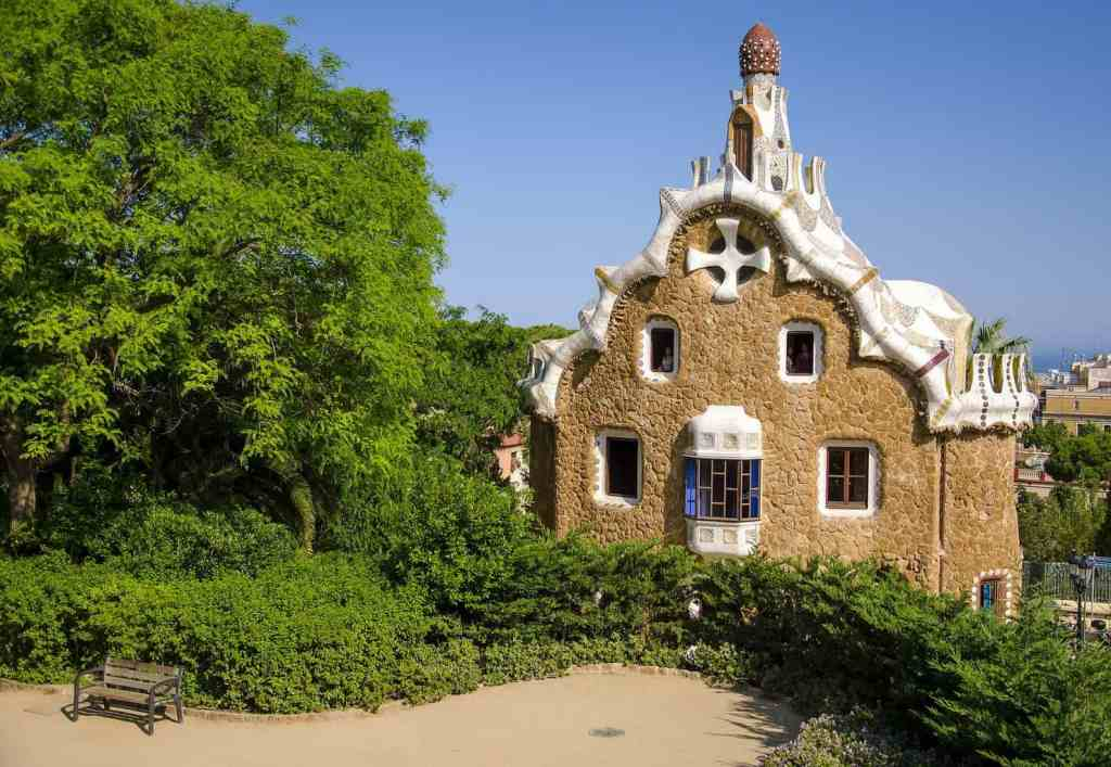 While exploring Guell Park, use my Barcelona travel tip and don't bring all your valuables with you.