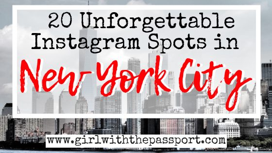 20 of the Most Instagrammable Places in NYC