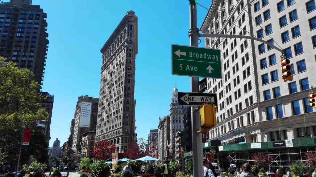 Taking a picture of the Flatiron Building in lower Manhattan is a must when visiting New York City.