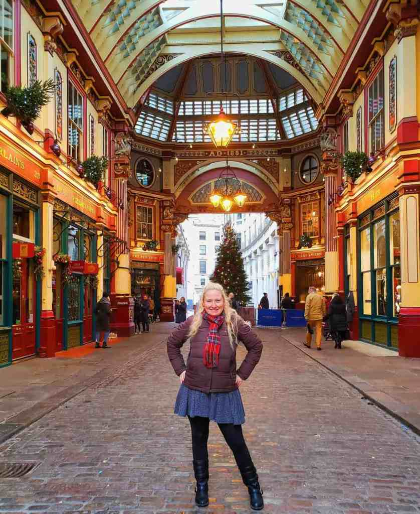 A mildly self-indulgent selfie at Leadenhall Market.